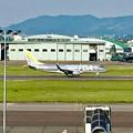 県営名古屋空港:FDAの飛行機(シルバー) - 1