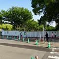 建設工事が始まった「金シャチ横丁」(2017年5月20日) - 1:東門側「宗春ゾーン」