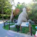Photos: 東山動植物園:綺麗に整備されてた恐竜像周辺 - 1