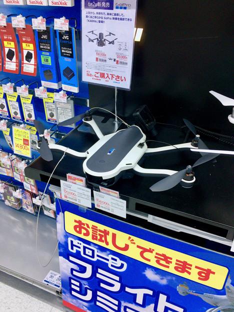 ビックカメラ名古屋駅西店:GoPro「Karma」のモック