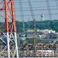 落合公園 水の塔から見た景色:スカイワードあさひ - 2