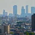 Photos: 落合公園 水の塔から見た景色:名駅ビル群 - 1