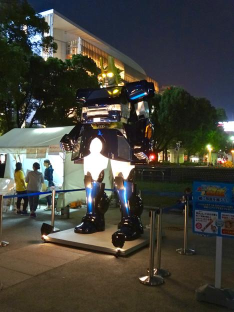あいちめし地域応援合戦 2017:トヨペットのロボットキャラ(?)「スライジャーロボ」 - 9