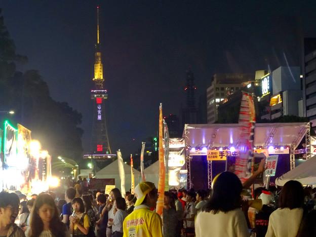 手羽先サミット 2017 No - 20:昼間以上に賑わう夜の会場