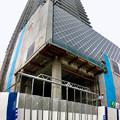 写真: 建設途中の御園座ビル(2017年6月10日) - 6