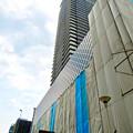 写真: 建設途中の御園座ビル(2017年6月10日) - 11