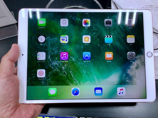 iPad Pro 10.5 No - 10:ホーム画面