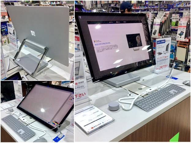 ビックカメラ名古屋JRゲートタワー店:Surface Studioが展示中! - 11
