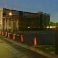 写真: 春日井市民病院前の旧がってん寿司跡地、建物の建設始まる(2017年6月24日) - 1