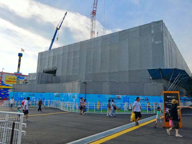 レゴランド・ジャパン:建設中のレゴホテル?(2017年7月8日) - 1