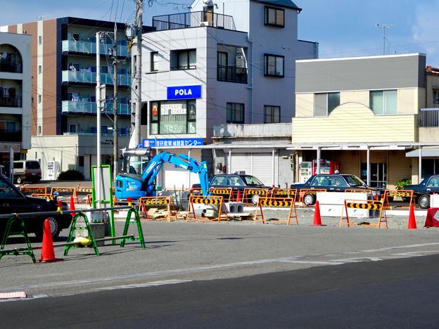 整備が進んでいたJR春日井駅北口前 - 3