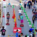 写真: 安城七夕まつり 2017 No - 26:セグウェイ風の乗り物乗車体験