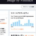 Twitter公式WEBに、また余計な「ツイートアクティビティ」表示