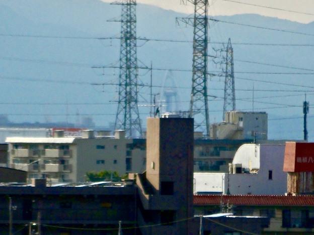 イオン小牧店屋上駐車場から見た景色 - 23:ツインアーチ138