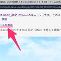 写真: Google検索でキャッシュを表示する - 6