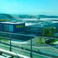オープン1ヶ月前の「IKEA(イケア)長久手」 No - 1:リニモ車内から撮影