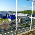 オープン1ヶ月前の「IKEA(イケア)長久手」 No - 38:公園西駅ホームから撮影