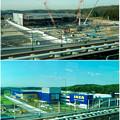 オープン1ヶ月前と9ヶ月前の「IKEA(イケア)長久手」- 2