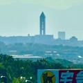 リニモ車内から見た東山スカイタワー - 2