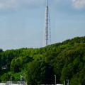 公園西駅から見た瀬戸デジタルタワー
