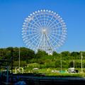 公園西駅前から見た愛・地球博記念公園の大観覧車 - 3