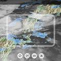 写真: 日本列島の降雨情報をARで表示できる「アメミル」 - 4