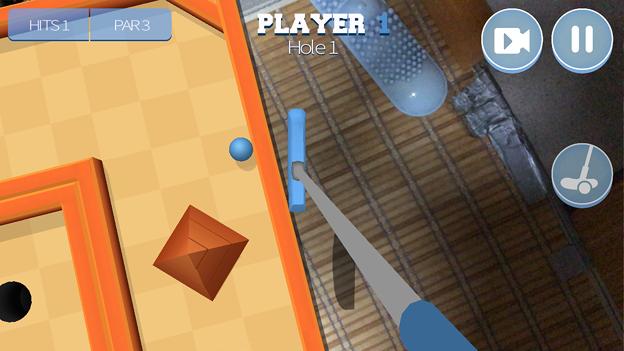 パットゴルフが楽しめるARアプリ「Drive Ahead! Minigolf」- 4