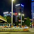 Photos: 下広井交差点から見えた、ささしまライブの「グローバルゲート」