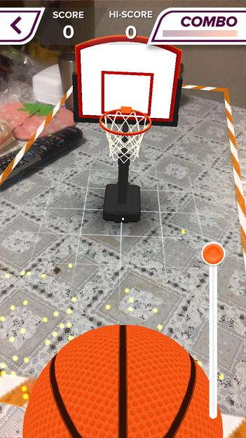 ARを使ったバスケットゲーム「AR Sports Basketball」 - 2