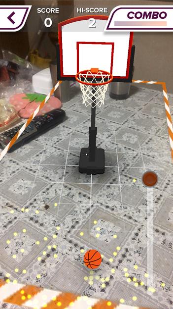 ARを使ったバスケットゲーム「AR Sports Basketball」 - 4