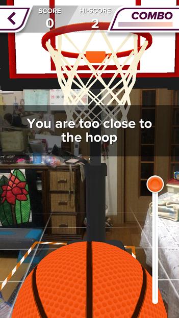 ARを使ったバスケットゲーム「AR Sports Basketball」 - 8