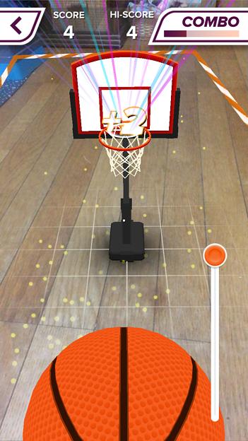 ARを使ったバスケットゲーム「AR Sports Basketball」 - 11