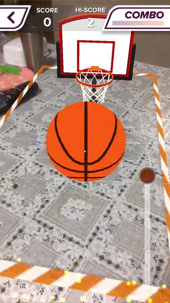 ARを使ったバスケットゲーム「AR Sports Basketball」 - 12