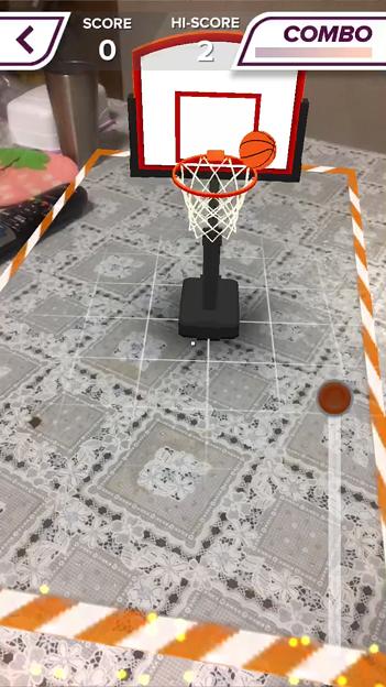 ARを使ったバスケットゲーム「AR Sports Basketball」 - 13