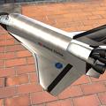 Photos: 3Dモデル共有サービス「Sketchfab」公式アプリ - 103:3DモデルをAR!(スペースシャトル「アトランティス」)