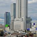 写真: グローバルゲートから見た名駅ビル群 - 16