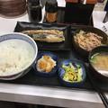 Photos: 吉野家:炙り塩さば牛定食 - 1