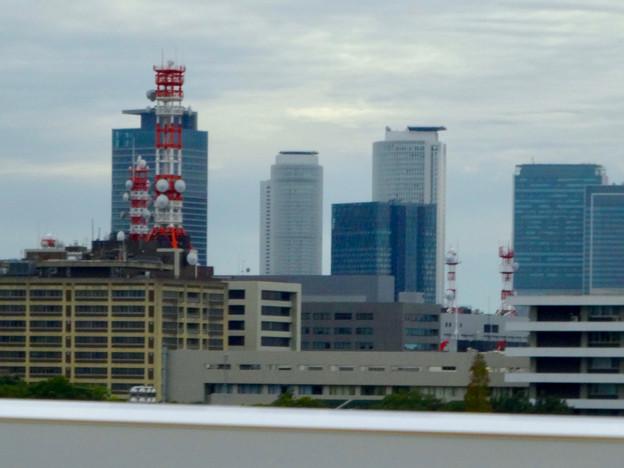 名古屋高速から見た名駅ビル群 - 2