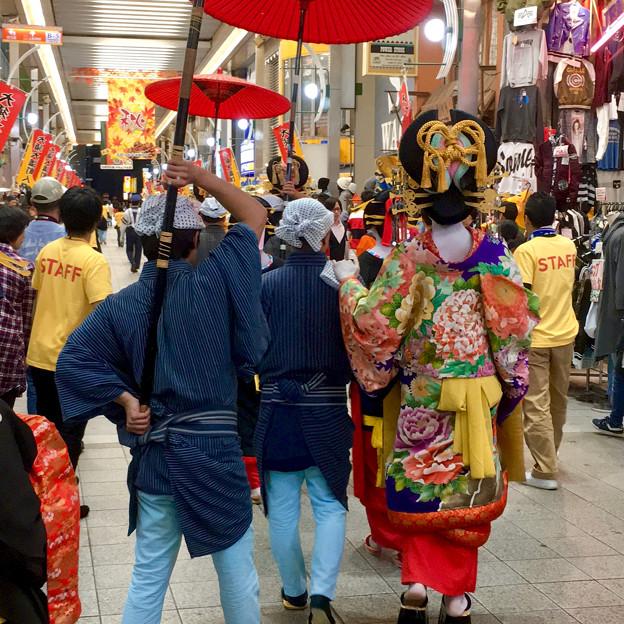 大須大道町人祭 2017 No - 80:夜のおいらん道中