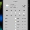 写真: macOS High Sierraの「Siri」- 2(今日の天気を質問)