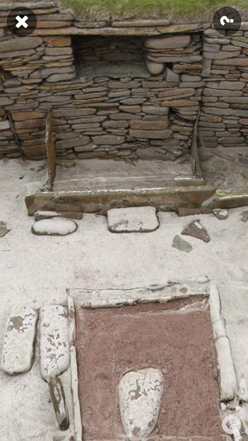スコットランドの集落遺跡「スカラ・ブレイ(その1)」 No - 5:ARで表示