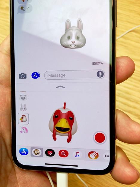 iPhone X No - 19:Animoji