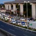 オープン1ヶ月後でも大勢の人で賑わう「IKEA長久手」 - 85:渋滞していた店舗前の名古屋方面の道路