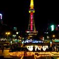Candle Night Nagoya 2017 No - 5:キャンドルと名古屋テレビ塔のイルミネーション