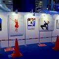 豊田合成リンク横でフィギュアスケート「GPファイナル」のパブリックビューイング! - 5:パネルコーナー