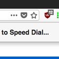 Firefox Quantum向けスピードダイヤル拡張「Speed Dial 2 」- 4:アドレスバーのスピードダイヤル追加ボタンをクリック