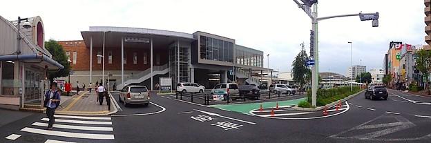 多治見駅南口パノラマ(2012年6月)
