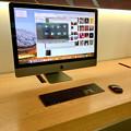 写真: Appleストア名古屋栄に展示されてた「iMac Pro」 - 1