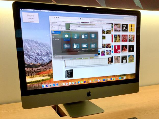 Appleストア名古屋栄に展示されてた「iMac Pro」 - 3