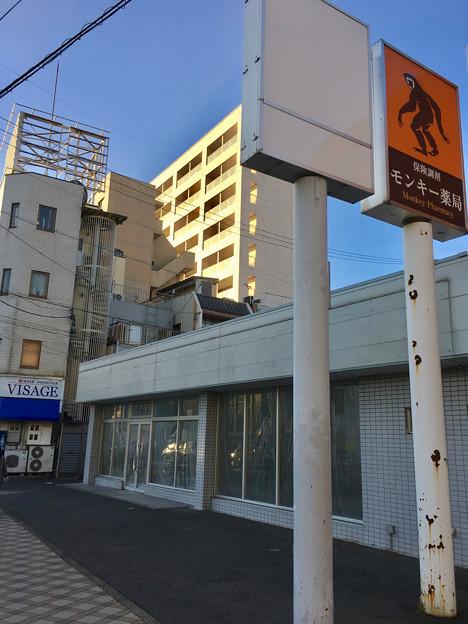 閉店してた犬山駅前のコンビニ